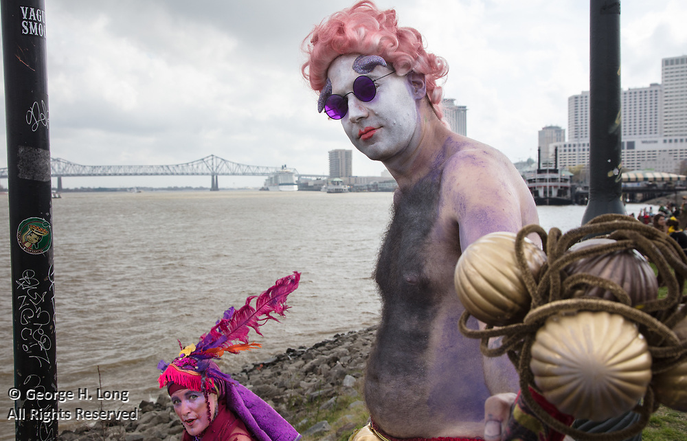 Mardi Gras in New Orleans 2017