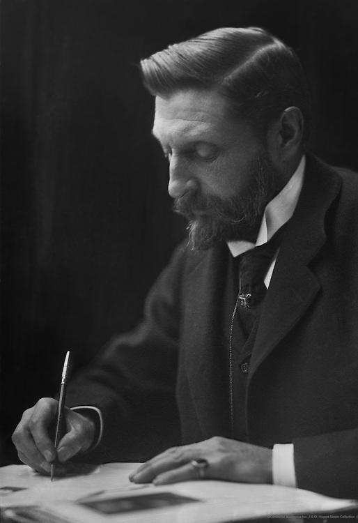 Sir H. Rider Haggard, English Author, circa 1910