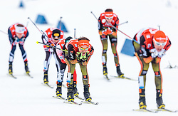 18.12.2016, Nordische Arena, Ramsau, AUT, FIS Weltcup Nordische Kombination, Langlauf, im Bild Fabian Riessle (GER) // Fabian Riessle of Germany during Cross Country Competition of FIS Nordic Combined World Cup, at the Nordic Arena in Ramsau, Austria on 2016/12/18. EXPA Pictures © 2016, PhotoCredit: EXPA/ JFK