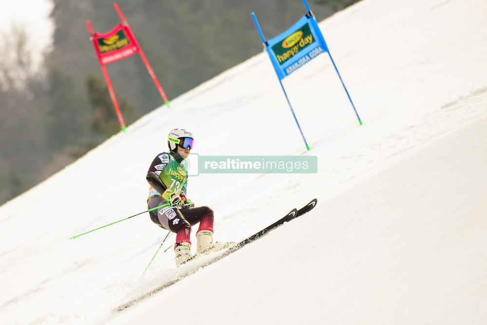 March 9, 2019 - Kranjska Gora, Kranjska Gora, Slovenia - Masanori Shin of Japan in action during Audi FIS Ski World Cup Vitranc on March 8, 2019 in Kranjska Gora, Slovenia. (Credit Image: © Rok Rakun/Pacific Press via ZUMA Wire)