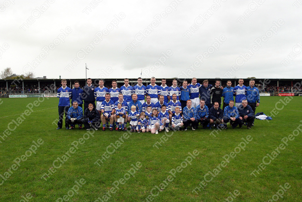 during the county football final in Cusack Park on Sunday.<br />