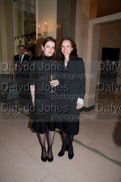 VIOLET FRASER; BETTINA VON HASE, Book launch of Lady Annabel Goldsmith's third book, No Invitation Required. Claridges's. London. 11 November 2009