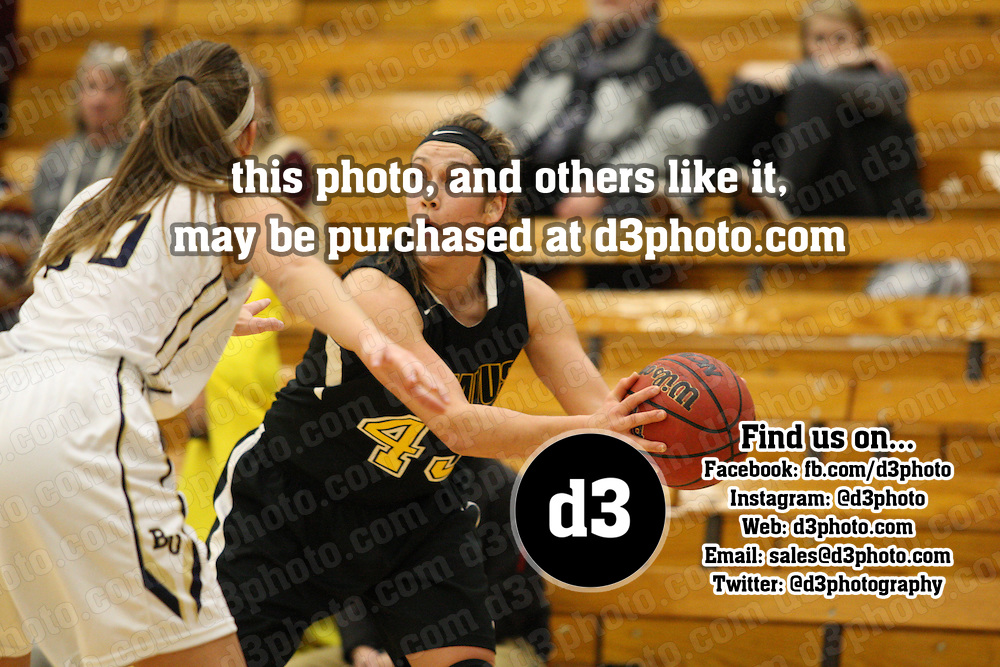 NCAA Div. III Women's Basketball<br /> Bethel vs. Gustavus