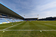 MEMS Priestfield shortly before the Sky Bet League 1 match between Gillingham and Coventry City at the MEMS Priestfield Stadium, Gillingham, England on 2 April 2016. Photo by Martin Cole.
