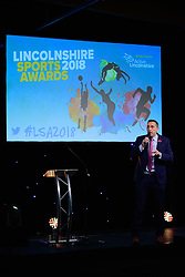 Lincolnshire Sports Awards 2018 held at The Lincolnshire Showground.<br /> <br /> Picture: Chris Vaughan Photography for Active Lincolnshire<br /> Date: November 1, 2018Host of the 2018 Lincolnshire Sport Awards, Steve Parry<br /> <br /> Lincolnshire Sports Awards 2018 held at The Lincolnshire Showground.<br /> <br /> Picture: Chris Vaughan Photography for Active Lincolnshire<br /> Date: November 1, 2018