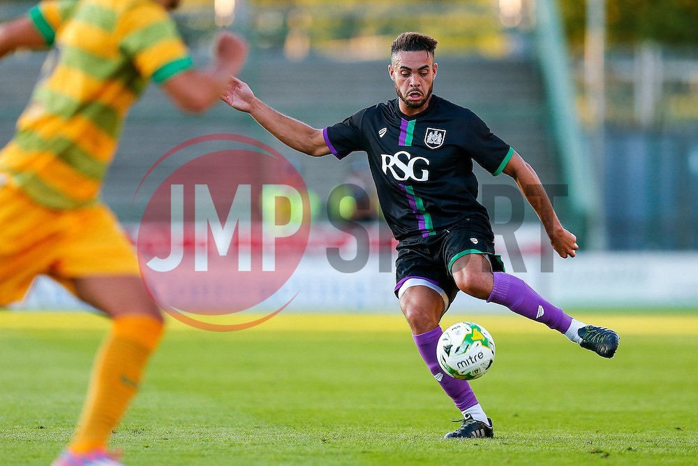 - Mandatory byline: Rogan Thomson/JMP - 07966 386802 - 30/07/2015 - FOOTBALL - Huish Park Stadium - Yeovil, England - Yeovil Town v Bristol City - Pre Season Friendly.