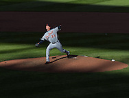Drew Smyly #33 of the Detroit Tigers pitches during a game against the Minnesota Twins on Opening Day 2013 on April 1, 2013 at Target Field in Minneapolis, Minnesota.  The Tigers defeated the Twins 4 to 2.  Photo: Ben Krause