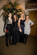EMILY DYSON; EMILY OPPENHEIMER; CLAUDIA SCHIFFER; JANE GOTTSCHALK. Chaos Point: Vivienne Westwood Gold Label Collection performance art catwalk show and auction in aid of the NSPCC. Banqueting House. London. 18 November 2008<br /> *** Local Caption *** -DO NOT ARCHIVE -Copyright Photograph by Dafydd Jones. 248 Clapham Rd. London SW9 0PZ. Tel 0207 820 0771. www.dafjones.com