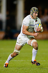 Saracens Flanker Kelly Brown in action - Photo mandatory by-line: Rogan Thomson/JMP - 07966 386802 - 03/10/2014 - SPORT - RUGBY UNION - Bath, England - The Recreation Ground - Bath Rugby v Saracens - Aviva Premiership.