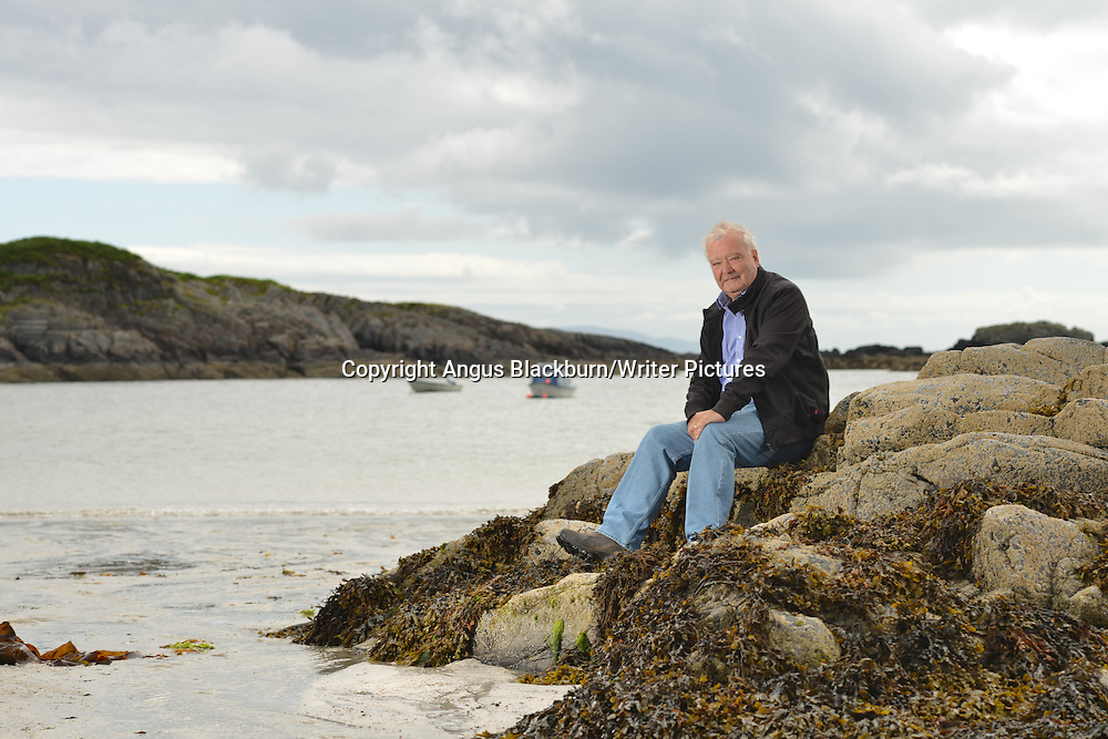 Sir Tom Devine, Isle of Mull, Scotland<br /> 13th July 2014<br /> <br /> Photograph by Angus Blackburn/Writer Pictures<br /> <br /> WORLD RIGHTS