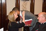 SIAN LLOYD;; SEAN FLETCHER, An evening of entertainment at St James Court in support of the redevelopment of St Fagans National History Museum. In the spirit of the court of Llywelyn the Great . St. James Court Hotel. London. 17 September 2015<br />  <br /> Noson o adloniant yn St James Court i gefnogi ail-ddatblygiad Sain Ffagan Amgueddfa Werin Cymru