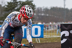 Amira Mellor (GBR), Women Elite, Cyclo-cross World Championships Tabor, Czech Republic, 31 January 2015, Photo by Pim Nijland / PelotonPhotos.com