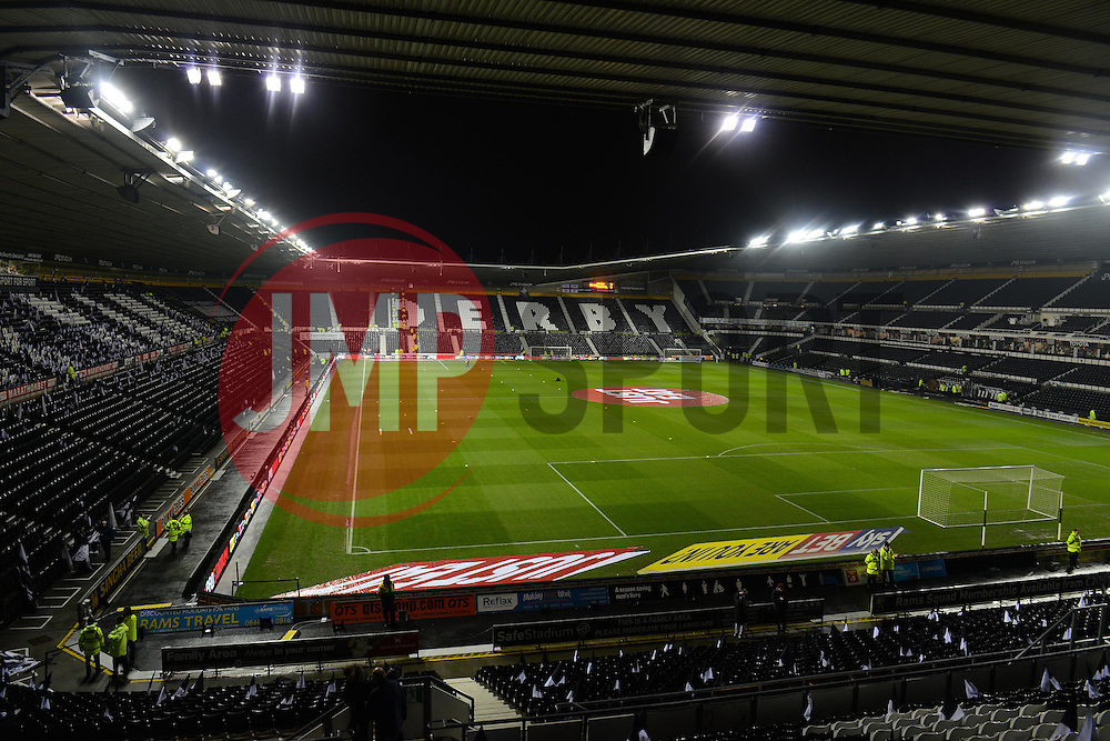 A general view of the iPro Stadium - Mandatory byline: Dougie Allward/JMP - 15/12/2015 - Football - iPro Stadium - Derby, England - Derby County v Bristol City - Sky Bet Championship