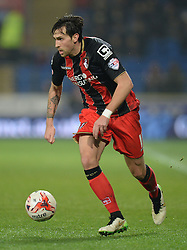 Bournemouth's Charlie Daniels - Photo mandatory by-line: Alex James/JMP - Mobile: 07966 386802 - 17/03/2015 - SPORT - Football - Cardiff - Cardiff City Stadium - Cardiff City v AFC Bournemouth - Sky Bet Championship