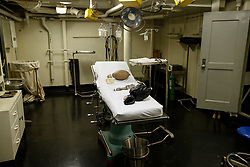 Infirmary, USS Hornet Museum, Alameda, California, United States of America