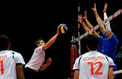 22-09-2013 VOLLEYBAL: EK MANNEN NEDERLAND - SLOVENIE: HERNING<br /> Nederland wint met 3-1 van Slovenie en plaatst zich voor de volgende ronde / Jelte Maan<br /> ©2013-FotoHoogendoorn.nl<br />  / SPORTIDA