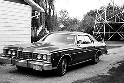 1975 - 1977 Heyworth Illinois<br /> 1973 Ford LTD Broham<br /> <br /> Archive slide, negative and print scans.