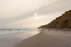 The Cliffs of Montauk, NY beach at Ditch Plains in Montauk, NY