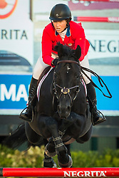 Madden Beezie (USA) - Cortes C<br /> Final First Competition<br /> Furusiyya FEI Nations Cup™ Final - Barcelona 2014<br /> © Dirk Caremans<br /> 09/10/14