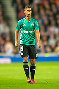 Dominik Nagy (#21) of Legia Warsaw during the Europa League Play Off leg 2 of 2 match between Rangers FC and Legia Warsaw at Ibrox Stadium, Glasgow, Scotland on 29 August 2019.
