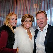 NLD/Ridderkerk/20121120 - Lancering Helden magazine nr.16, Debby Koeman, Ronald Koeman en partner Bartina Borderveld