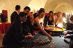 Guests playing roulette at the 13th annual Russian Summer Ball held at the Banqueting House, Whitehall, London on 14th June 2008.<br /><br />NON EXCLUSIVE - WORLD RIGHTS