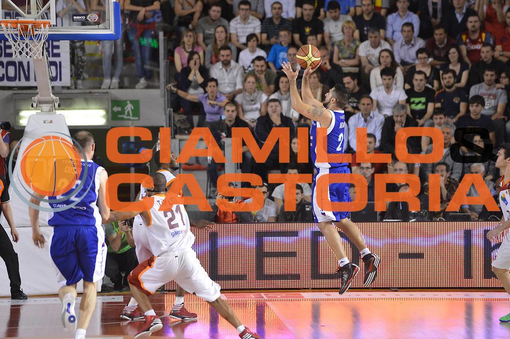 DESCRIZIONE : Roma Lega A 2012-2013 Acea Roma Lenovo Cant&ugrave; playoff semifinale gara 2<br /> GIOCATORE : Pietro Aradori<br /> CATEGORIA : tiro<br /> SQUADRA : Lenovo Cantu<br /> EVENTO : Campionato Lega A 2012-2013 playoff semifinale gara 2<br /> GARA : Acea Roma Lenovo Cant&ugrave;<br /> DATA : 27/05/2013<br /> SPORT : Pallacanestro <br /> AUTORE : Agenzia Ciamillo-Castoria/GiulioCiamillo<br /> Galleria : Lega Basket A 2012-2013  <br /> Fotonotizia : Roma Lega A 2012-2013 Acea Roma Lenovo Cant&ugrave; playoff semifinale gara 2<br /> Predefinita :