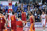 DESCRIZIONE : Pesaro Lega A 2011-12 Scavolini Siviglia Pesaro Acea Virtus Roma<br /> GIOCATORE : Jarvis Varnado<br /> CATEGORIA : esultanza scelta<br /> SQUADRA : Acea Virtus Roma<br /> EVENTO : Campionato Lega A 2011-2012<br /> GARA : Scavolini Siviglia Pesaro Acea Virtus Roma<br /> DATA : 02/05/2012<br /> SPORT : Pallacanestro<br /> AUTORE : Agenzia Ciamillo-Castoria/C.De Massis<br /> Galleria : Lega Basket A 2011-2012<br /> Fotonotizia : Pesaro Lega A 2011-12 Scavolini Siviglia Pesaro Acea Virtus Roma<br /> Predefinita :
