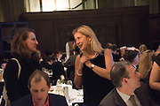 MEG FULTON; IWONA BLAZWICK, Whitechapel Gallery Art Icon 2015 Gala dinner supported by the Swarovski Foundation. The Banking Hall, Cornhill, London. 19 March 2015