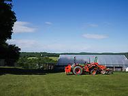 Harmony Farm, Goshen, NY  - equipment