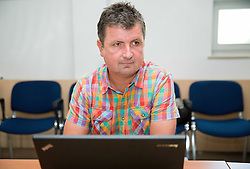 Samo Stante during meeting of Executive Committee of Ski Association of Slovenia (SZS) on June 9, 2014 in SZS, Ljubljana, Slovenia. Photo by Vid Ponikvar / Sportida