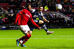 Kasey Palmer of Bristol City takes on Shaun Williams of Millwall - Mandatory by-line: Robbie Stephenson/JMP - 10/12/2019 - FOOTBALL - Ashton Gate - Bristol, England - Bristol City v Millwall - Sky Bet Championship