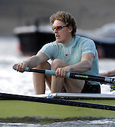 Putney. GREAT BRITAIN,  Peter CHAMPION,  during the Cambridge University  vs German National Eight race,  raced over the Boat Race Course, on the River Thames, London, on Sat.  03.03.2007,  [Photo Peter Spurrier/Intersport Images] .  [Mandatory Credit, Peter Spurier/ Intersport Images]. , Rowing Course: River Thames, Championship course, Putney to Mortlake 4.25 Miles, , Varsity Boat Race.