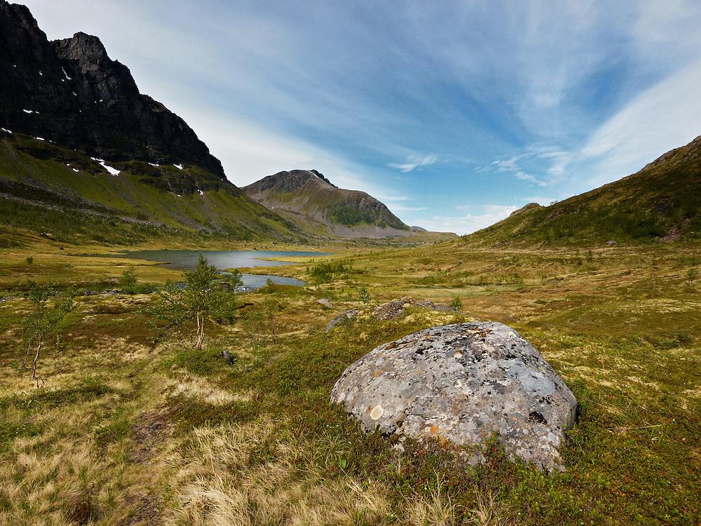 Norway - Langfjord glacier valley