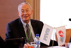 28-08-2010 VOLLEYBAL: WGP FINAL FIVB MEETING: BEILUN NINGBO<br /> Word Grand Prix Council meeting with FIVB president Mr. Jizhong Wei<br /> ©2010-WWW.FOTOHOOGENDOORN.NL