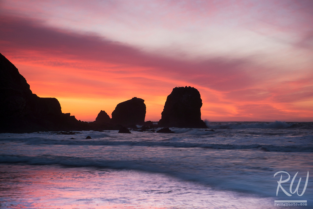 Rockaway Beach Sunset, Pacifica, California
