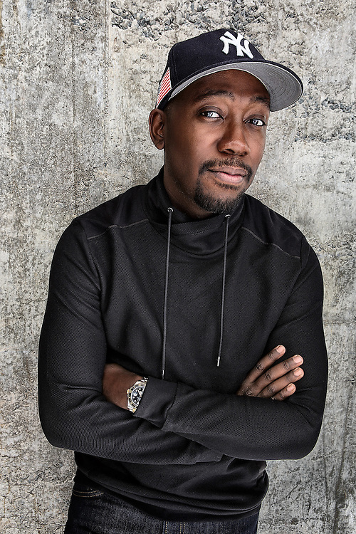 Portraiot of Actor Lamorne Morris by Michel Leroy PHOTOGRAPHER