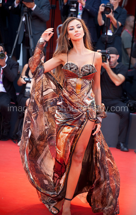 Venice, Italy, 31st August 2019, Madalina Ghenea at the gala screening of the film Joker at the 76th Venice Film Festival, Sala Grande. Credit: Doreen Kennedy