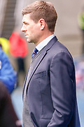 Rangers Manager Steven Gerrard during the Ladbrokes Scottish Premiership match between Rangers and Aberdeen at Ibrox, Glasgow, Scotland on 27 April 2019.