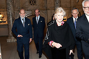 PRINCE MICHAEL OF KENT; DUKE OF KENT; PRINCESS ALEXANDRA, Cecil Beaton private view. V and A Museum. London. 6 February 2012