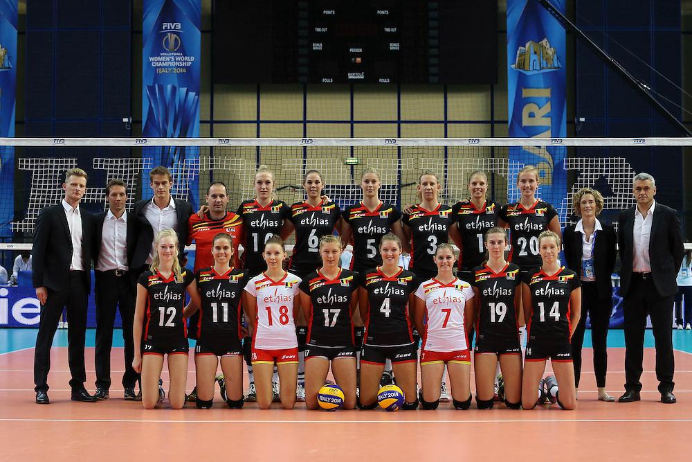 Belgium team photo