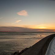 Today's cold winter sunrise in Narragansett Beach, Narragansett  Rhode Island  February  18, 2013.