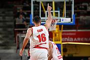 Tyler Cain<br /> Pallacanestro Varese - S.Oliver Wuzburg<br /> FIBA Europe Cup 2018/2019<br /> Semi-Finals Gameday 1 - Game 1 <br /> Varese 10 April 2019<br /> Foto Mattia Ozbot / Ciamillo-Castoria
