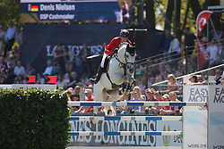 Nielsen Denis, (GER), DSP Cashmoaker<br /> Longines Global Champions Tour - Grand Prix of Hamburg<br /> Hamburg - Hamburger Derby 2016<br /> © Hippo Foto - Stefan Lafrentz