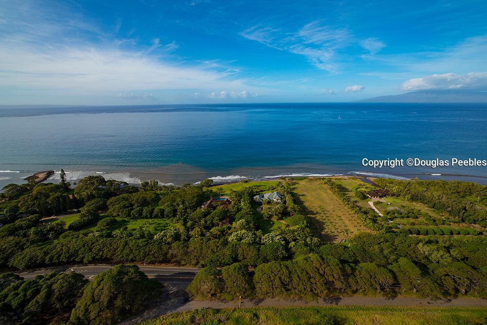 Aerial, Oluwalu, Maui, Hawaii