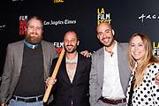Jay Holzer, Gabriel Taraboulsy, Alexander Emanuele, and Cecile Murias
