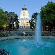 McGeorge Wall Art Project 2012, Sacramento California, State Capitol, Landscape, Scenic, Stock