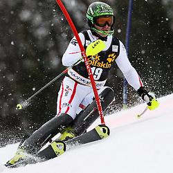 HERBST Reinfried of Austria during the 1st Run of Men's Slalom - Pokal Vitranc 2013 of FIS Alpine Ski World Cup 2012/2013, on March 10, 2013 in Vitranc, Kranjska Gora, Slovenia.  (Photo By Vid Ponikvar / Sportida.com)