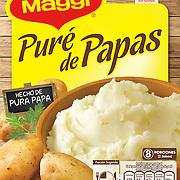 Packaging Pur&eacute; de papas Maggi<br /> Fotos: Francisco arias<br /> Cliente: Nestl&eacute;<br /> Agencia de dise&ntilde;o: Traso Libre
