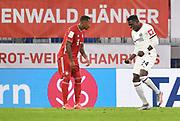GOAL Celebration 1:1 Tor, Jubel, v.l. Jerome Boateng (Bayern), Torschuetze Danny da Costa (Frankfurt) during the Bayern Munich vs Eintracht Frankfurt, German Cup Semi-Final at Allianz Arena, Munich, Germany on 10 June 2020.